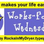 Works For Me Wednesday – Recipes