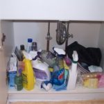 Saturday Solutions – Underneath the bathroom sink
