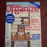 Nothing like relaxing with a good organizing magazine!!!
