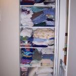 Organizing my linen closet…..