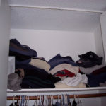 Quick and easy closet transformation