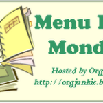 Menu Plan Monday – Sept 24th