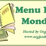 Menu Plan Monday – Oct 29th