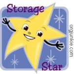 Storage Star ~ Mitten holder