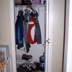 Organizing your closet with cubbies…..