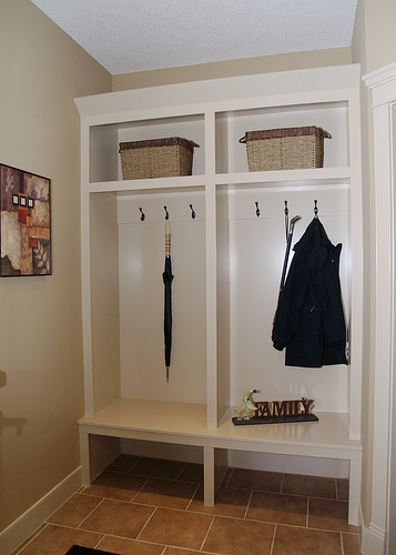 Organizing your mudroom -