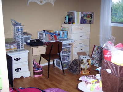 Organizing your craft room -