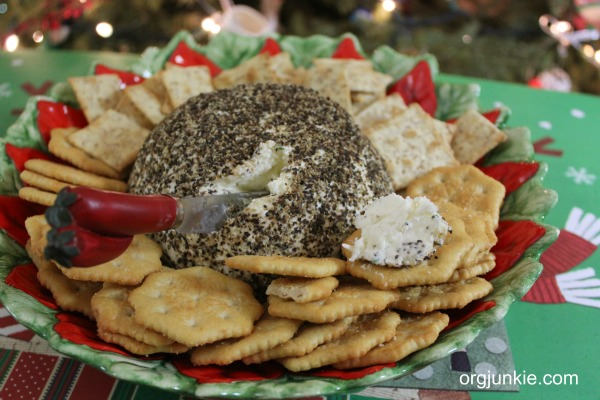 Pepper Swiss Cheese Ball 1