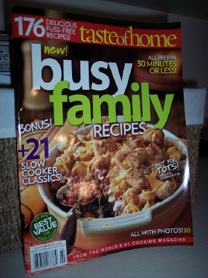 busy family recipes