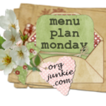 Menu Plan Monday ~ Jan 25th