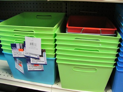 Superbe Take A Trip To The Dollar Store For Inexpensive Organizing Containers