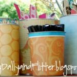 Storage Star ~ Recycled Containers