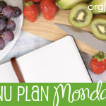 Menu Plan Monday ~ Aug 16th