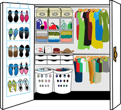 Dibujo de closet imagui for How to organize your closets