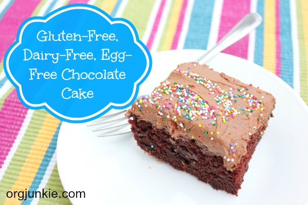 Egg Allergy Cake Recipes