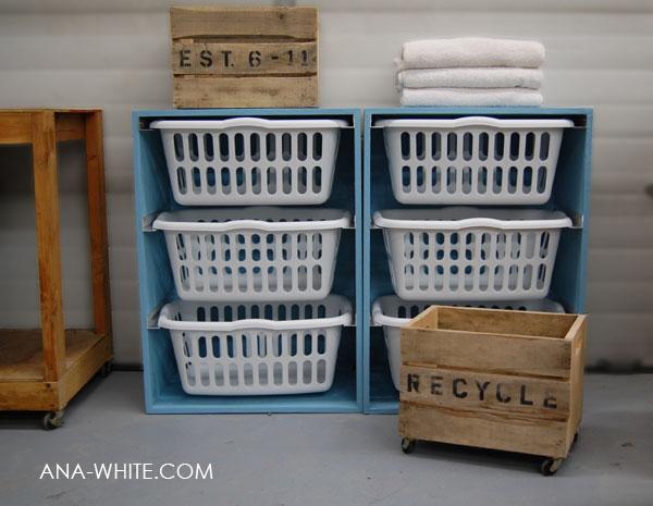 storage laundry basket dresser