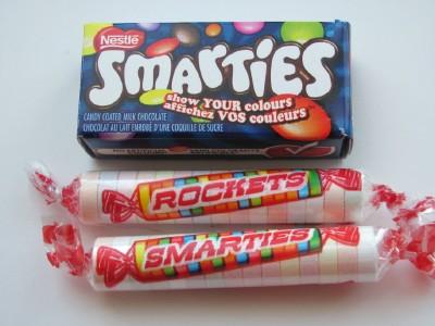 Rockets and Smarties Smarties Canada