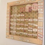 Magnetic Menu Plan Board Giveaway