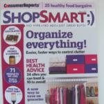 I'm in Consumer Reports Shop Smart Magazine!