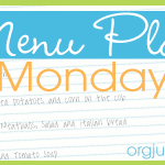Menu Plan Monday ~ Jan 19/15