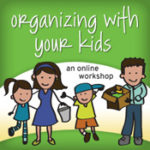 Organizing with Your Kids Winner + Coupon Code