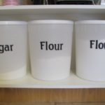 Sugar and Flour Containers from Booster Juice