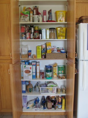 Organizing My Pantry Cupboard