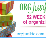 52 Weeks: #41 Best Organizing Advice + Giveaway!