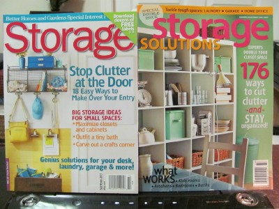 Last Friday I Ran A Giveaway For Two Storage Magazines (giveaway Ends Today  At 2:00 Pm PST If You Havenu0027t Entered Yet) And I Got Many Questions About  Where ...