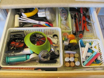 Organizing Kitchen Cooking Utensils -
