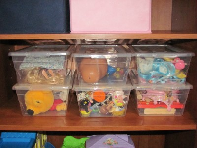 toy sets Great Organizing Ideas