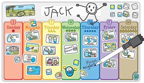 My Favorite Visual Calendar for Kids!