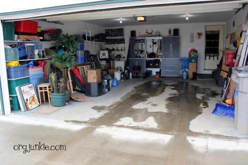 The Great Garage Clean Out Challenge