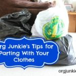 Clothes Purging ~ How To Let Go