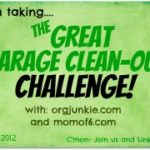 The Great Garage Clean Out Challenge ~ Week Four