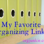 Favorite Organizing Links ~ Organizing Photos, Files, Drawers and Clothes