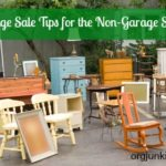 Garage Sale Tips for the Non-Garage Saler