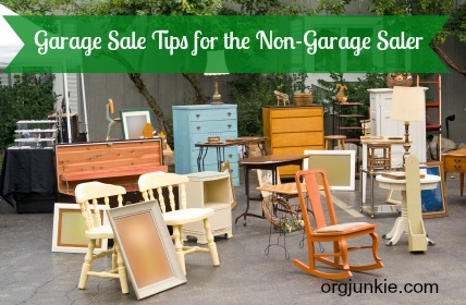 Garage Sale Tips For The Non Garage Saler By Org Junkieu2026