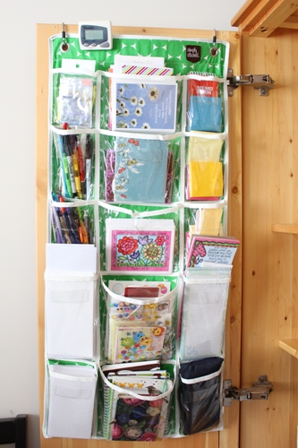 office hanging organizer. Pocket Hanging Organizer (available In My Shop). I Love Using It Here For Office Supplies. Sometimes Leave The Door Open Just To Stare At Because