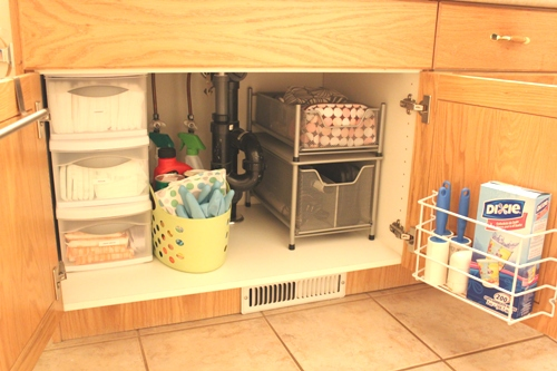 how to organize under the bathroom sink getting back into it and organizing my bathroom sink 26160