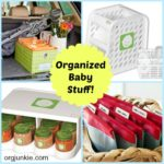 Great New Products for Organizing Baby Stuff