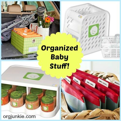 Kitchen Organization For Baby Stuff