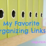 Favorite Organizing Links ~ Closet Dividers, Drawer Organization, Moving Checklist plus more!