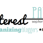 Pinterest Party Day with Top Organizing Bloggers!