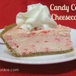 Easy Candy Cane Cheesecake Recipe