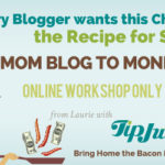 Winner of the Mom Blog to Money Blog Giveaway!