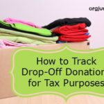 How to Track Drop-Off Donations for Tax Purposes
