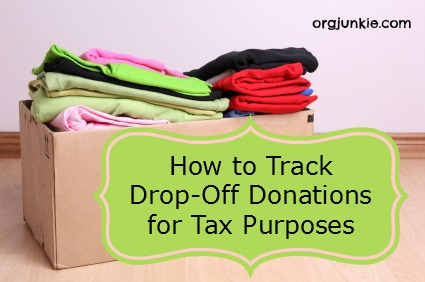Worksheets Itsdeductible Worksheet how to track drop off donations for tax purposes