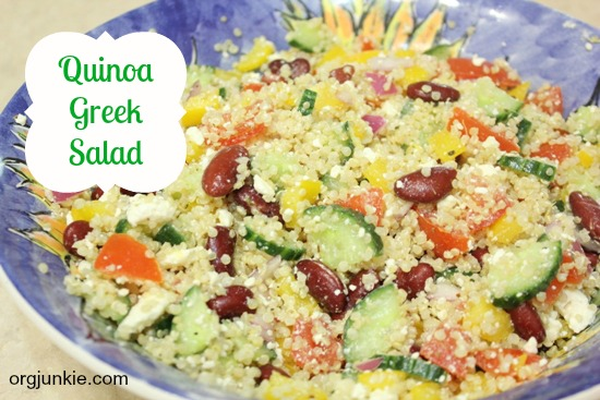... Greek Salad Recipe - Menu Plan Monday ~ Jan 21/13 + Quinoa Greek Salad