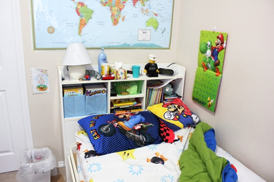organizing your child's bedroom -